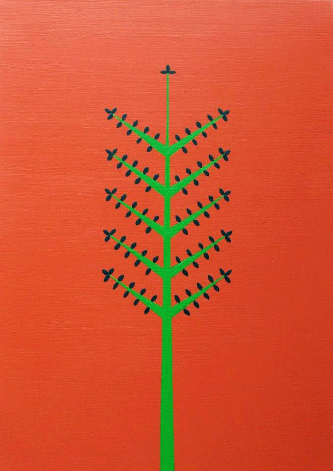 MILJENKA SEPIC LAPIEZA ART SERIES 2014 TREES CROATIA KK
